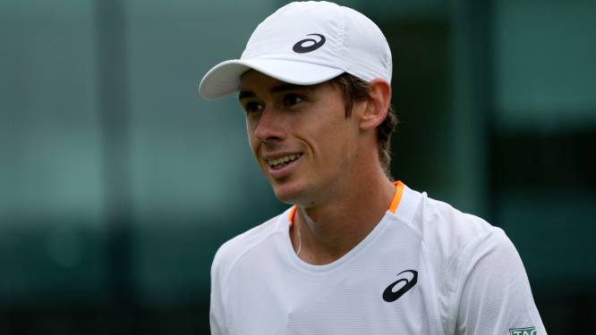 Tennisser Alex de Minaur mist Spelen na twee positieve coronatests