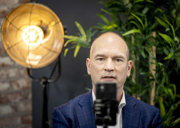 Lijsttrekker Gert-Jan Segers van de ChristenUnie.  Beeld ANP
