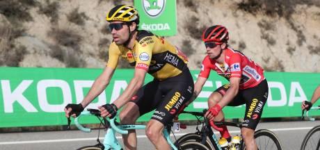 Dumoulin stapt af in Vuelta: 'Het heeft geen zin om door te gaan'