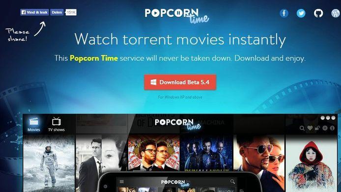 Popcorn Time bestaat pas sinds twee jaar en was na een aantal maanden al op 1,3 miljoen computers geïnstalleerd.