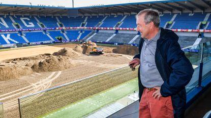Racing Genk gaat Premier Leagueclubs achterna met hybride grasmat