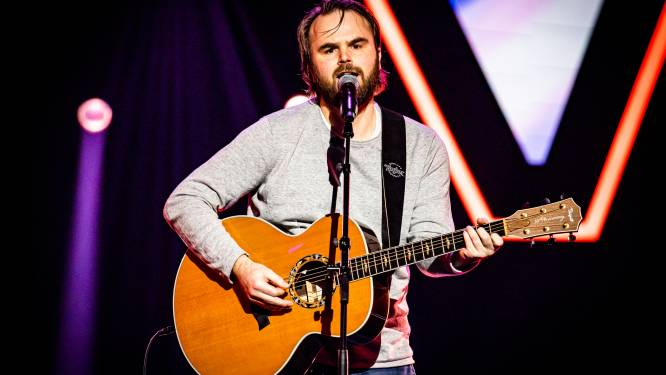 Reinier (44) uit Pelt in Blind Auditions van The Voice