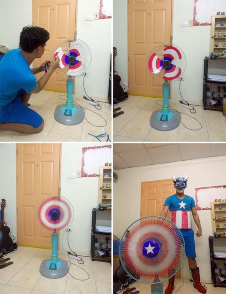 Captain America Beeld Facebook