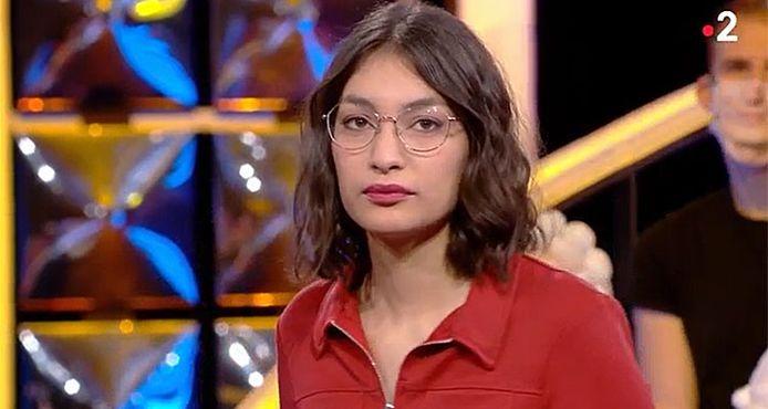 """Alessandra, candidate belge de """"N'oubliez pas les paroles"""""""