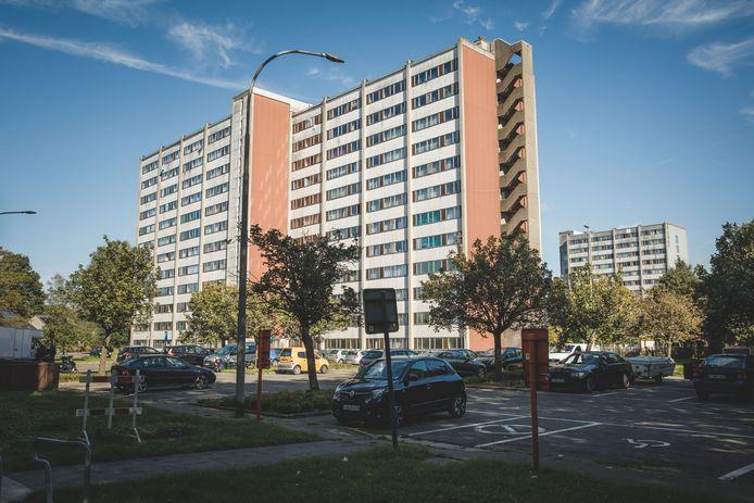 Sociale huisvestingsmaatschappij WoninGent bezit onder meer heel wat appartementsblokken in Nieuw Gent.