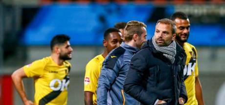 NAC-trainer Steijn spreekt zich uit: 'Willen we meedoen, moeten we van De Graafschap winnen'