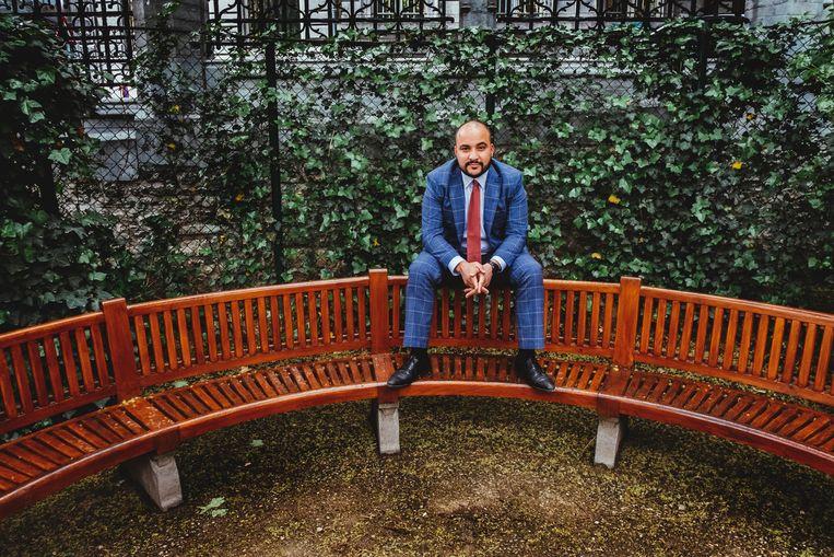 Youssef Kobo is sociaal ondernemer en opiniemaker bij CD&V. Beeld Stefaan Temmerman
