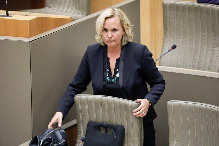 Minister Liesbeth Homans (N-VA). Beeld BELGA