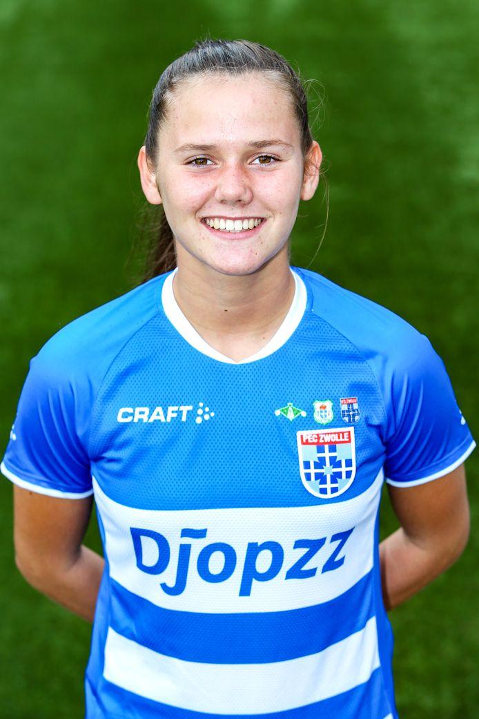 Lotje de Keijzer heeft een 1-jarig contract getekend bij FC Twente Vrouwen.