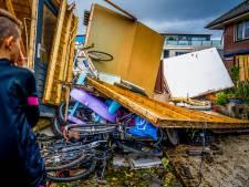 Krakend hout en overal glasgerinkel: binnen kwartier zorgde tornado voor enorme chaos
