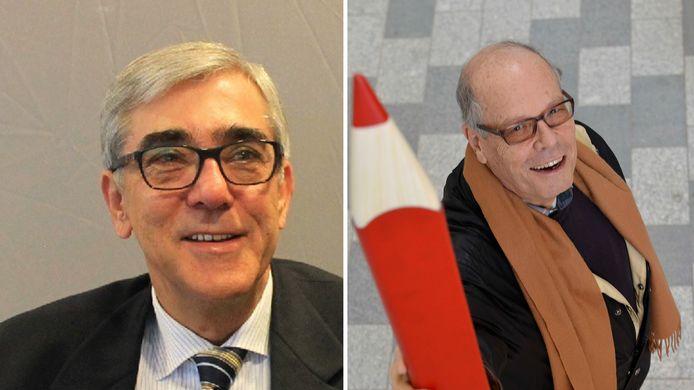 VSP in Nieuwegein: Herman Beeuwkes en Herman Troost.