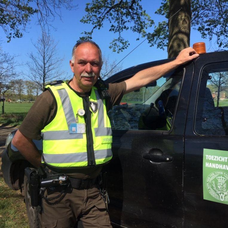 Groene boa Wim Kutterik. Beeld Marjon Bolwijn