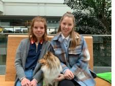 Nootdorpse zussen Anne en Merel bedenken actie voor eenzame ouderen in verzorgingshuizen