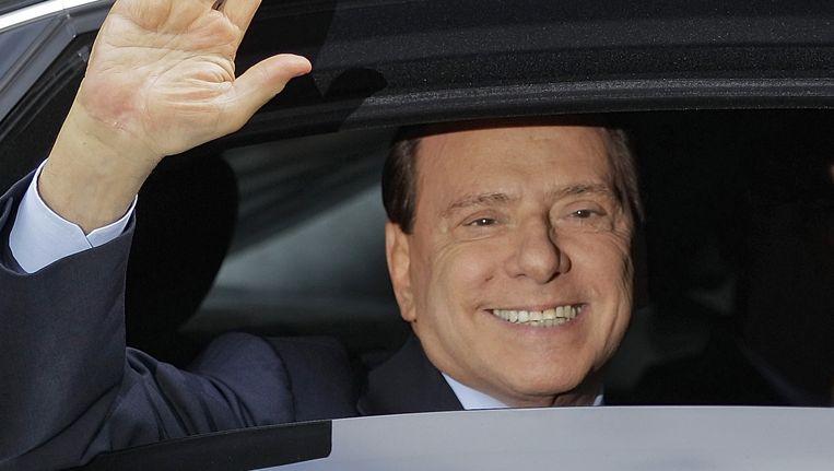 Silvio Berlusconi. Beeld AP