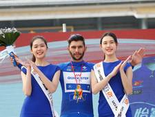 Gaviria wint ook laatste etappe in Guangxi, eindzege Wellens