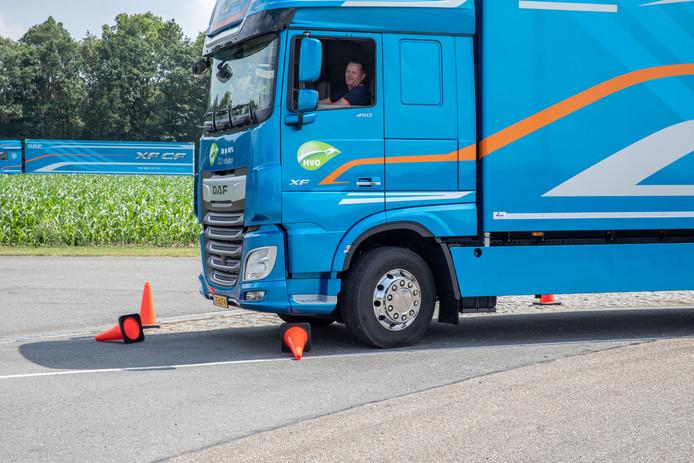 DAF Driver Challenge op proefbaan in St. Oedenrode.