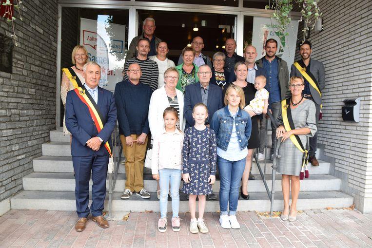 De familie Steyaert.