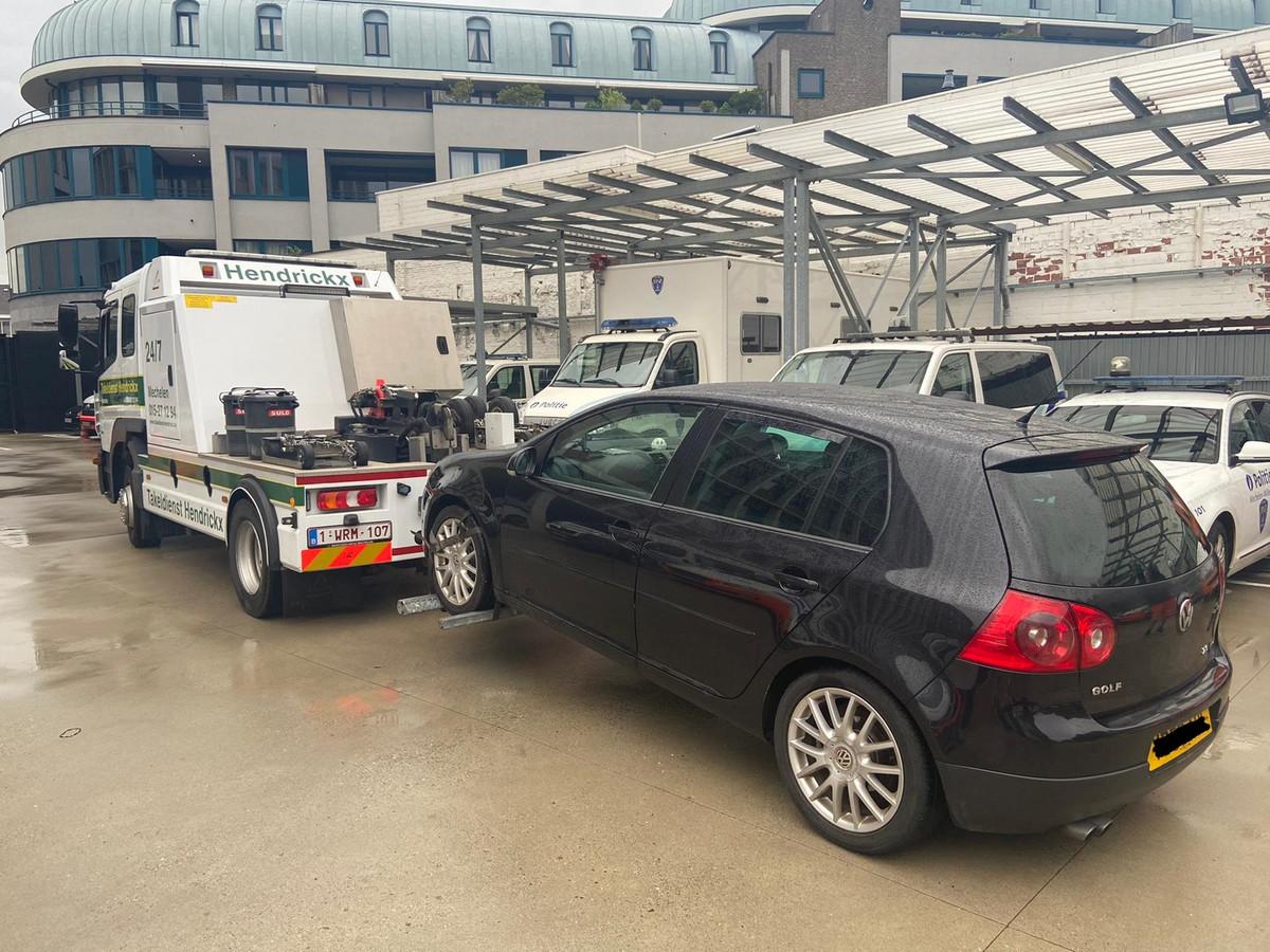 La police de Malines-Willebroek a saisi le véhicule du conducteur après son treizième excès de vitesse.