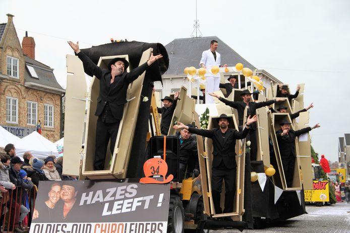 De Chiro Oldies brachten André Hazes terug tot leven.
