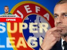 Dat uitgerekend UEFA fel van leer trekt tegen Super League is de ironie ten top