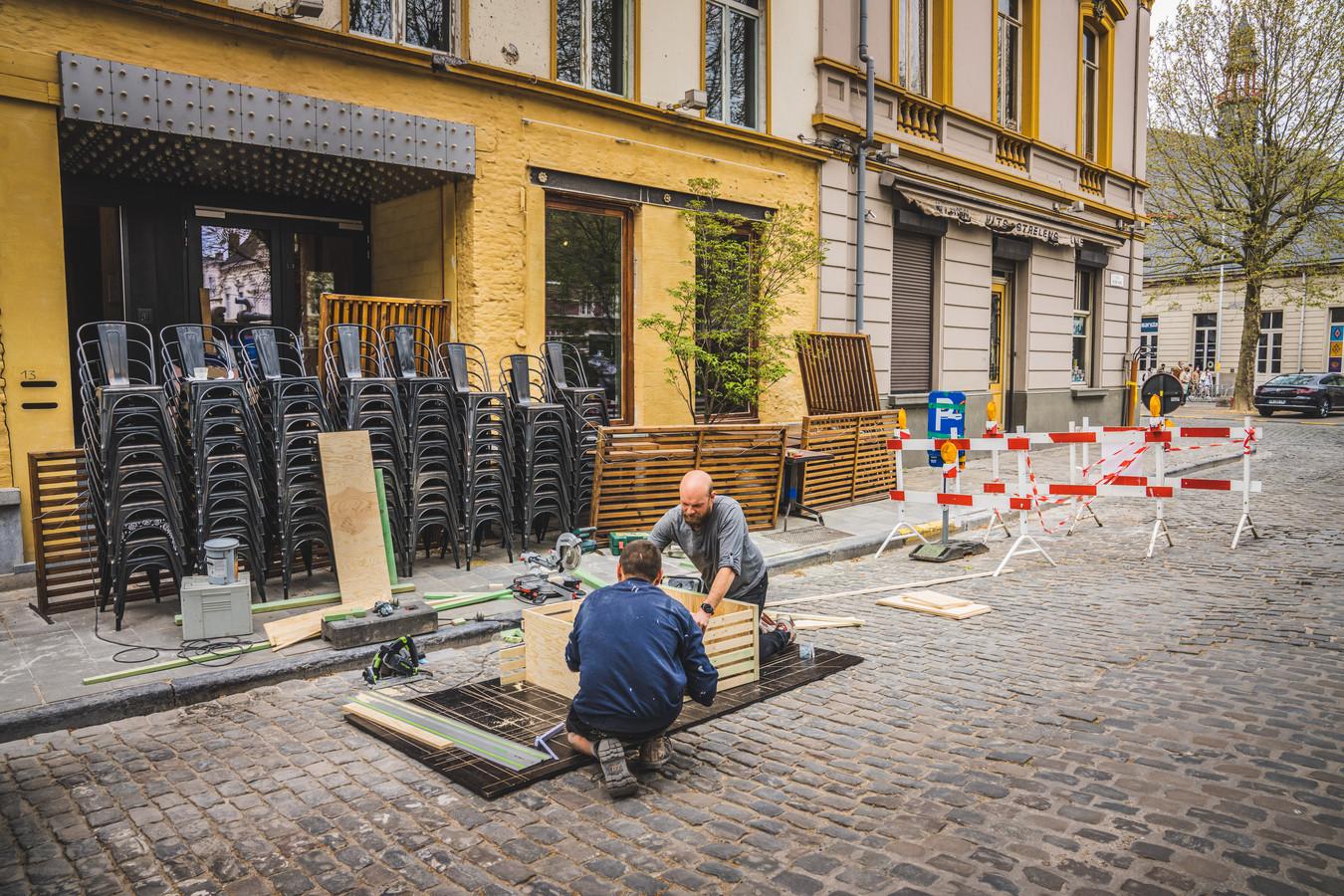 De Gentse horeca bereidt zich voor op de opening van de terrassen