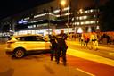 Politieinzet bij het Philips Stadion.