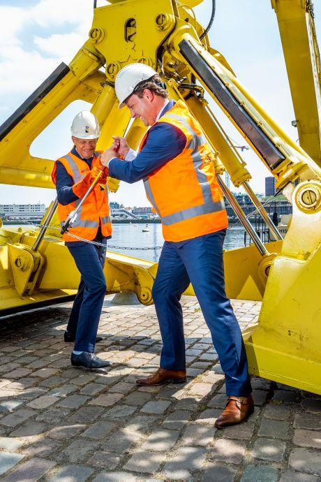 Nieuw leven voor Rijnhaven begint: 'Dit wordt een waanzinnige plek'