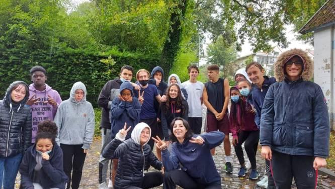 Regina Caelilyceum organiseerde voor de eerste keer in geschiedenis een trailrun