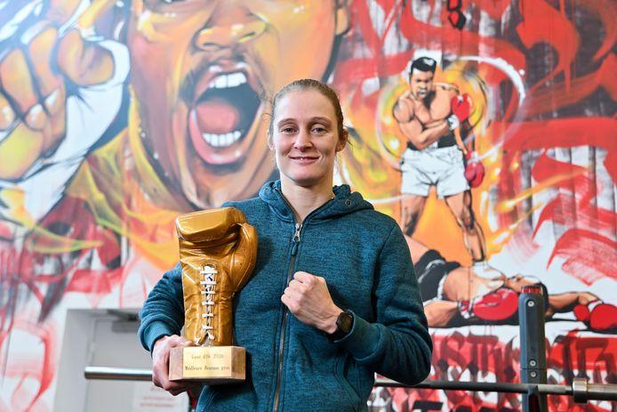 Une récompense de plus pour Delfine Persoon, qui reçoit le Gant d'Or pour la huitième année consécutive.