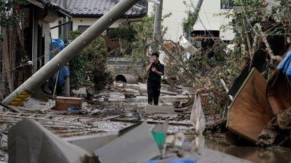 Al 56 doden na passage tyfoon Hagibis in Japan, vrees voor nieuwe aardverschuivingen en overstromingen