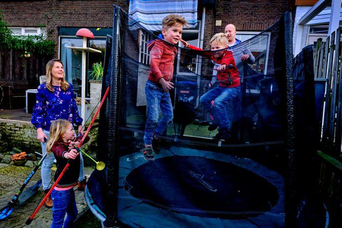De familie Geertsma is het eerste gastgezin van De Rustplek Dordrecht.