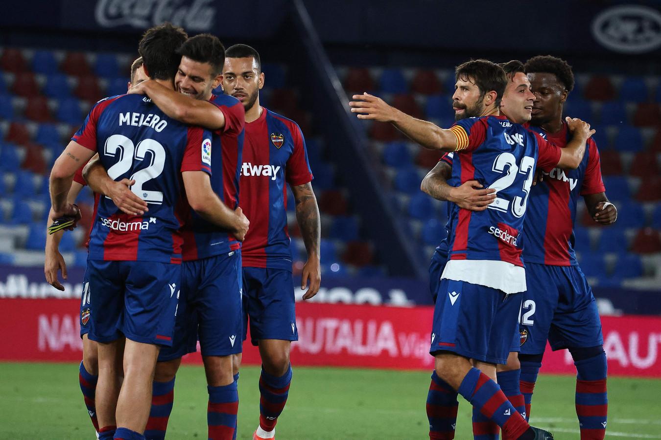 Levante zorgde voor een grote verrassing door FC Barcelona op een gelijkspel te houden.