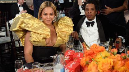 Beyoncé en Jay-Z namen eigen flessen bubbels mee naar Golden Globes