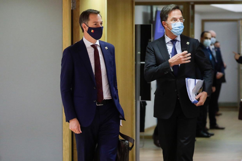 In navolging van Mark Rutte is team-De Croo druk doende het eigen leiderschap in de markt te zetten.  Beeld BELGA