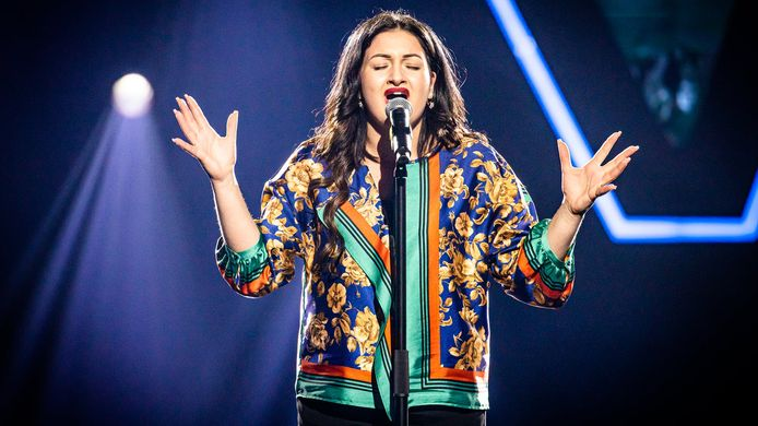 Anna in 'The Voice van Vlaanderen'