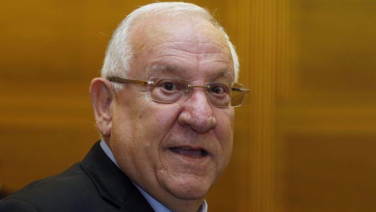 Reuven Rivlin, de nieuwe president van Israël. Beeld afp