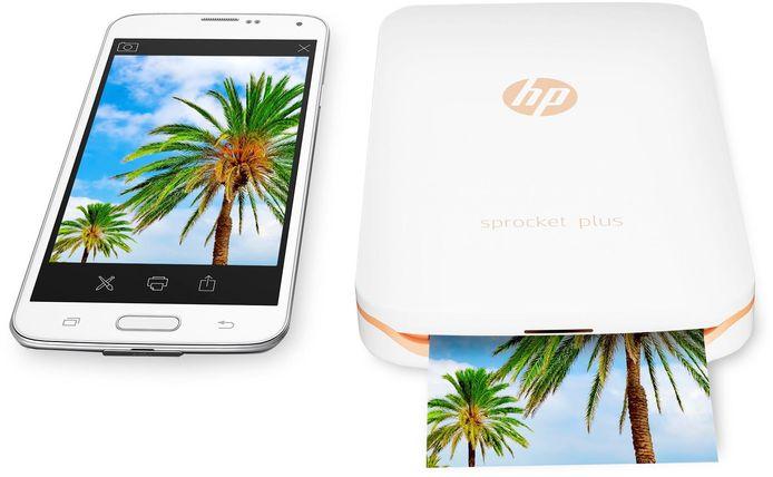 HP Sprocket Plus: € 115 euro en € 13  voor 20 vellen papier