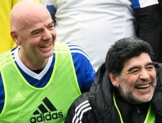 """Maradona pleit voor WK met 48 landen: """"Het biedt kansen"""""""