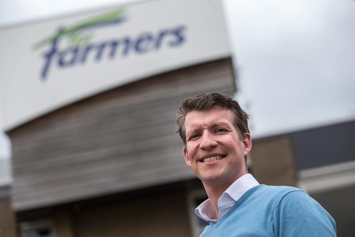 Pieter Wolleswinkel, directeur ForFarmers Nederland.