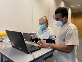Kinderen van Siemens-personeel als 'Little Innovators' aan de slag op campus Huizingen