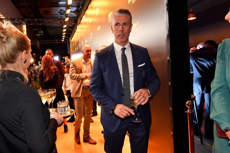 Michael Verschueren op het Gala van de Gouden Schoen.