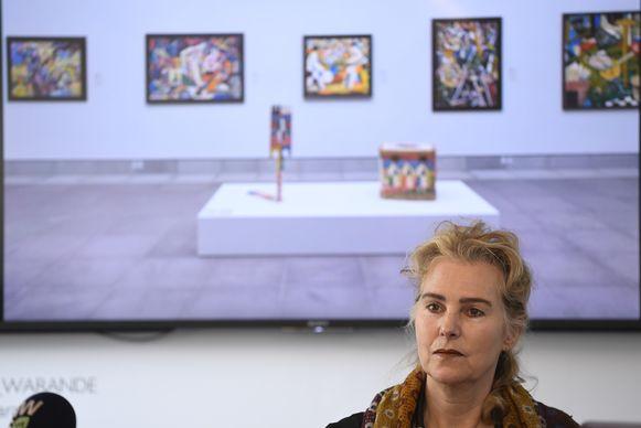 Catherine de Zegher is definitief ontslagen als directeur van het MSK na de heisa rond Russische avant-gardekunst.