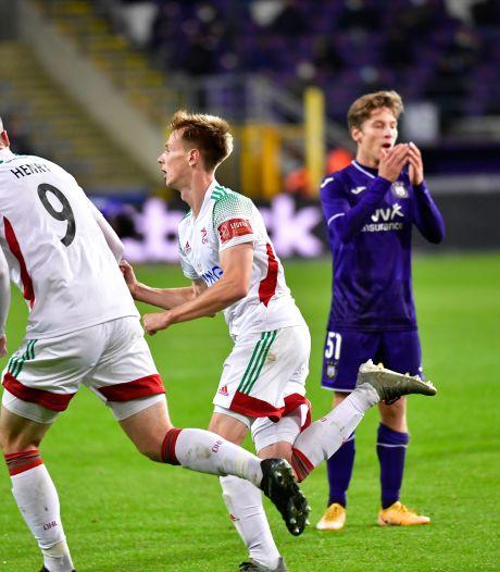Anderlecht perd encore des plumes dans les dernières minutes