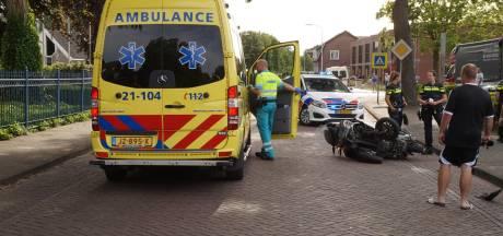 Motorrijder gewond bij botsing met auto in Vlijmen