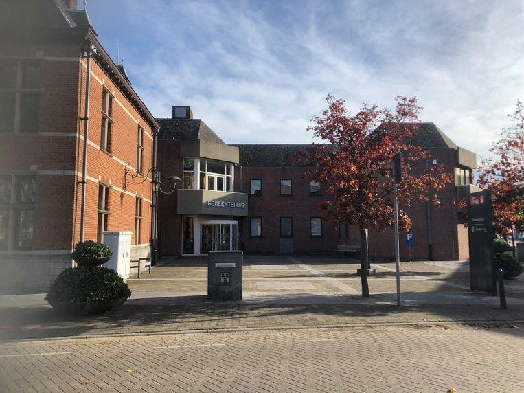 Het gemeentehuis in Oud-Turnhout
