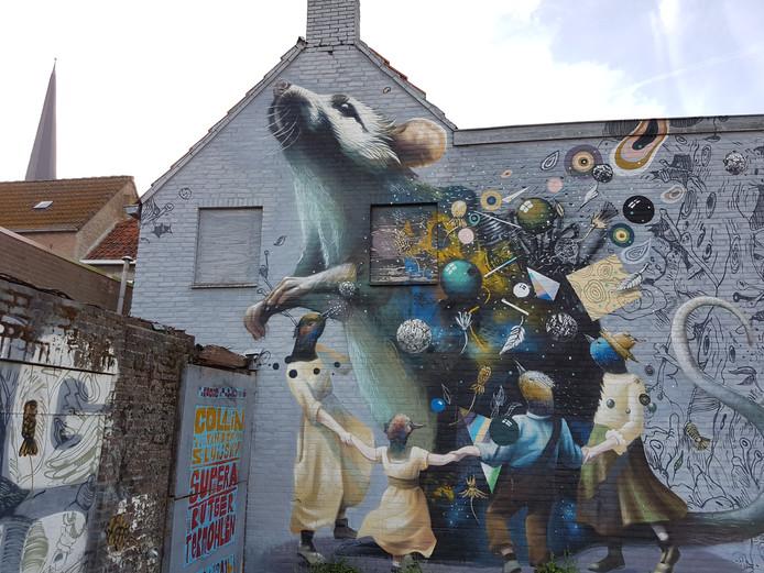 Blind Walls Gallery in Breda.