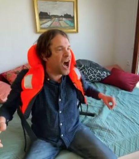 Maker Lockdown-hit Hans Teeuwen maakt nu Oranjenummer met cabaretier