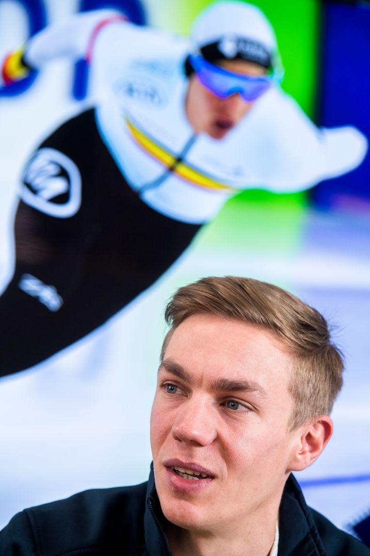 Swings zorgde met zijn zilveren plak voor de eerste Belgische medaille op de Winterspelen sinds 1998. Beeld BELGA