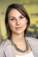 Daniela Kraft, universitair docent Soft Matter Physics.