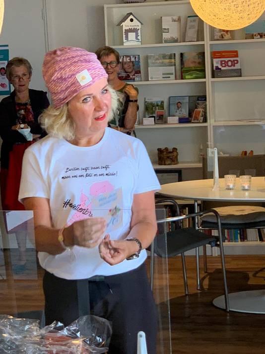 Evelien van der Werff in het Vicki Brownhuis